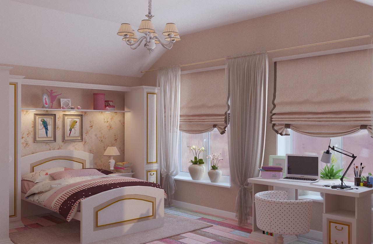 מיטה וחצי ארון ושידה
